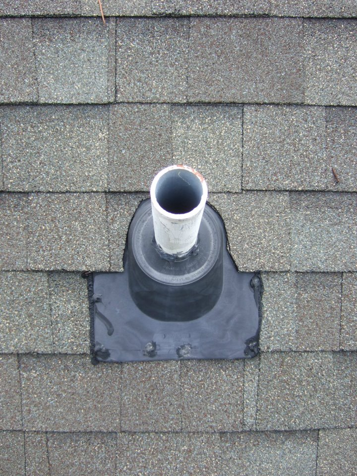 Leaking Roof Boot Inspection Replacement Collins Design