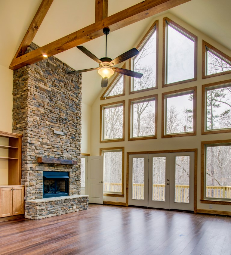 The story behind the appalachia home collins design for Collins design build