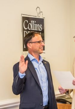 Chad Collins Oath of Office